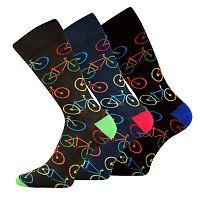 3 pack ponožiek Bike