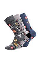 3 pack ponožiek Depate Mix D