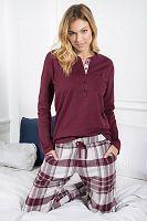 Dámske bavlnené pyžamo Zaffiro