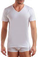 Pánske basic tričko s výstrihom do V
