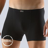 Pánske boxerky GINO Modal kratšie čierne