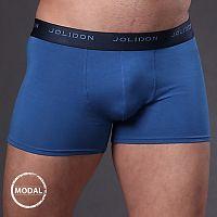 Pánske boxerky JOLIDON Silk Touch Blue