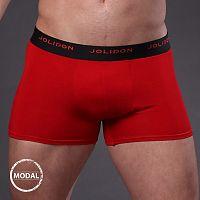 Pánske boxerky JOLIDON Silk Touch Red