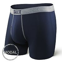 Pánske boxerky SAXX Platinum Navy Grey