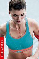 Športová podprsenka Shock Absorber Ultimate Run S5044 07O bez kostíc