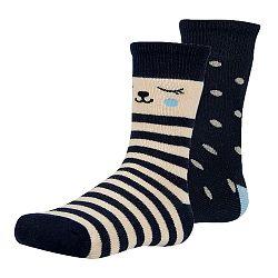 2 pack detských hrejivých  ponožiek Dani