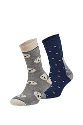2 pack hrejivých ponožiek Rubí