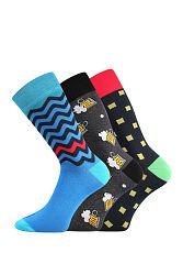 3 pack pánskych ponožiek Tod
