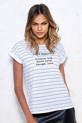 Dámske bavlnené tričko Adeline