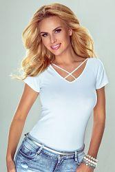 Dámske bavlnené tričko Rene