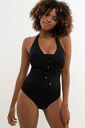 Dámske jednodielne plavky Valencia Black
