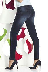 Dámske legíny v džínsovom dizajne Timea