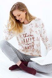 Dámske pyžamo Be Happy melange