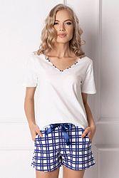 Dámske pyžamo Blumy krátke