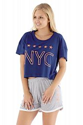 Dámske pyžamo NYC navy