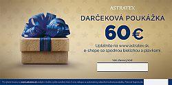 Darčeková poukážka 60 EUR