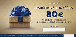 Darčeková poukážka 80 EUR