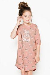 Dievčenská nočná košeľa Swans