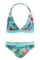 Dievčenské dvojdielne plavky Flower