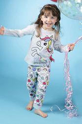 Dievčenské pyžamo Lina Pink Pony