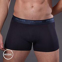 Pánske boxerky JOLIDON Silk Touch Navy