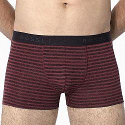 Pánske boxerky ROSSLI Stripes Red