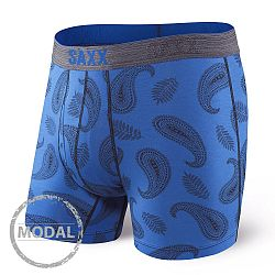 Pánske boxerky SAXX Platinum Paisley Blue