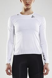 Tričko CRAFT Run Shade LS biele