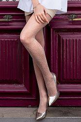 Vzorované pančuchové nohavice Brigitte 09