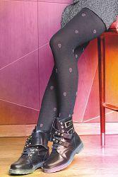 Vzorované pančuchové nohavice Colette Chic 02